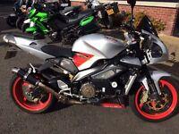 2005 aprilia tuano 1000cc fighter mint must be seen extras etc £2999
