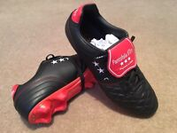 Football Boots - UK Size 10 - Pantofola d'Oro - Italian Leather - Brand New in Box