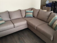 Sofa sectionnel neuf