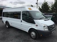 Ford TRANSIT 2.4 td 115 T430 17 seater RWD 2008 58 Reg only covered 75553 miles