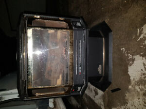 fireplace stove type used in good condition