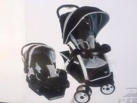 STROLLER AND CAR SEAT FOR NEWBORNS