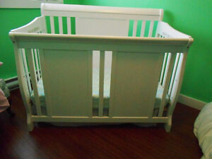 Convertible Crib and Safety 1st Crib Mattress