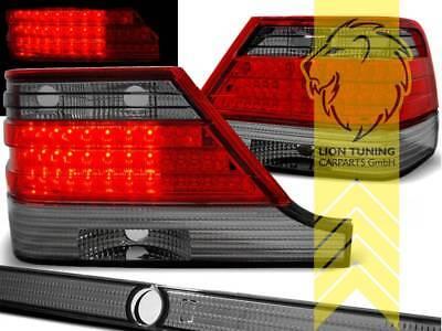 LED Rückleuchten Heckleuchten für Mercedes Benz W140 Limo S-Klasse rot schwarz