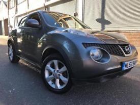 Nissan Juke 2012 1.6 16v Acenta CVT 5 door AUTOMATIC, 1 OWNER, 6 MONTHS WARRANTY