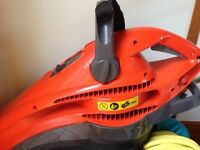 Garden leaf blower and vacuumed Flymo EV750