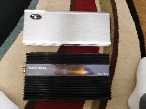 Old Car Audio Amps