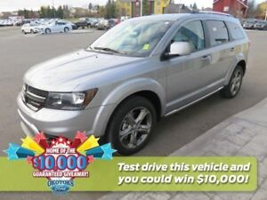 2017 Dodge Journey Crossroad 7 seats, Clean Carproof! Rear vi...