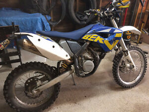 2011 husaberg FE 570S and 2014 timbersled long track
