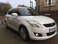 Suzuki Swift 1.2 SZ4 Perfect first car 5 door (white) 2011