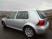 2002 Volkswagen Golf 2.8 V6 4MOTION 5dr HATCHBACK Petrol Manual