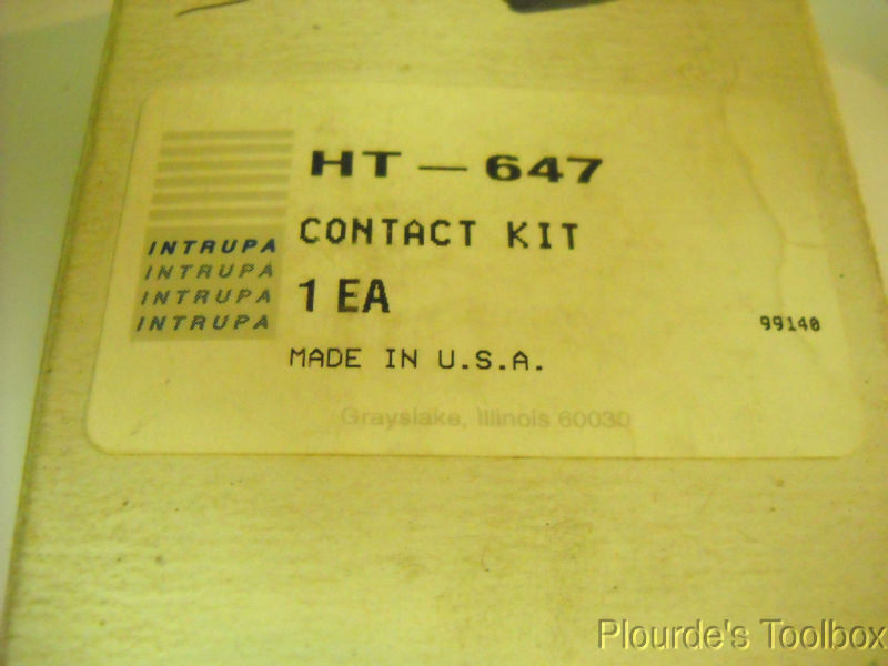New INTRUPA HT-647 Forklift Contactor Tips Kit