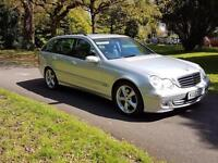 2007 Mercedes-Benz C220 Auto Estate CDI Avantgarde SE Leather Sat Nav New Mot £3495