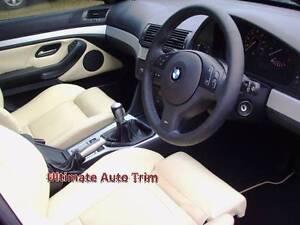 CUSTOM SEAT COVER BMW E87,E30,E36,E46,E90,E34,E39,E60,E38,E65,E66 Narre Warren Casey Area Preview