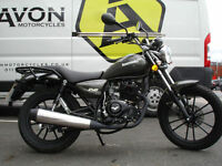 LEXMOTO ZSB 125 - LEARNER LEGAL 125 - COMMUTER MOTORCYCLE