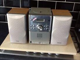 CD player/radio