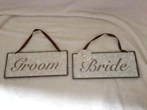 Bride & Groom signs Regina Regina Area image 1