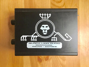 Black Lion AUTEUR Two Channel Preamp