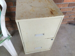 Free two drawer file cabinet