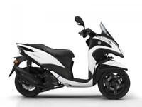 YAMAHA MW125 TRICITY 125cc 3 WHEEL AUTOMATIC SCOOTER. CALL FOR BEST UK PRICE...