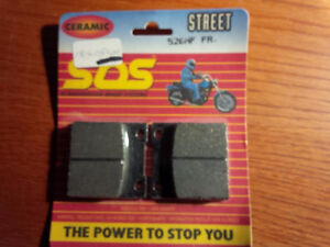 Brake Pads Ceramic 526hf Fr. Brand new in sealed package Hondas