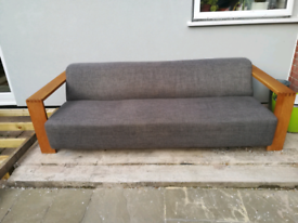Large wrap around sofa