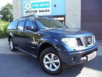 2006 NISSAN NAVARA 2.5 DCi 4WD AUTO OUTLAW DOUBLE CAB, ONLY 1 PREVIOUS OWNER!