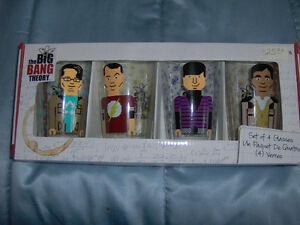 The Big Bang Theory, Set of 4 Glasses