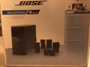 Bose Acoustimass 10 IV 5.1 Home Theater