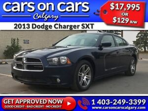 2013 Dodge Charger SXT w/Leather, Navi, BackUp Cam $129B/W INSTA