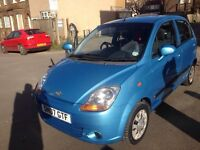 Chevrolet Matiz 0.8 Litre engine, super check on fuel & insurance