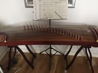 Chinese zither in great condition with lots of free accessories