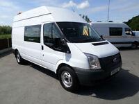 2013 Ford Transit 2.2TDCi 125BHP, 350 LWB, WELFARE VAN, TOILET VAN, MESS VAN