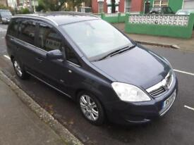 Vauxhall zafira design hatchback seven seater excellent condition only 2299