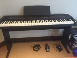 Roland Digital Piano Keyboard, stand and headphones