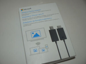 Microsoft Wireless Display Adaptor V2 Genuine NEW open box
