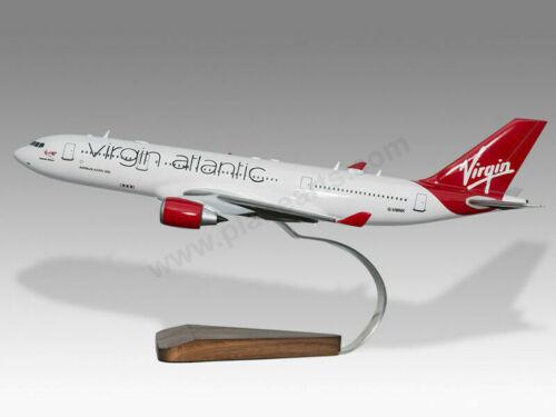 Airbus A330-200 Virgin Atlantic Daydream Believer Handcrafted Wood Display Model