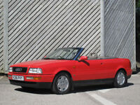 1993AUDI 80 2.3 CABRIOLET - ONLY 93000 MILES - FULL HISTORY !!!
