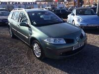2006 RENAULT MEGANE 1.6 VVT Privilege ESTATE 12 MONTHS WARRANTY AVAILABLE