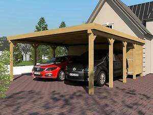 carport mit ger teraum ebay. Black Bedroom Furniture Sets. Home Design Ideas