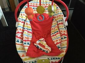 Mamas & papas baby seat with music & vibration