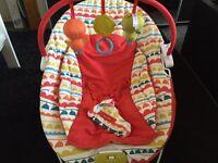 Mamas & papas baby seat with music & vibration