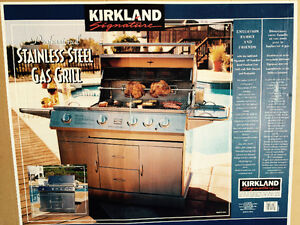 Professional Stainless Steel Gas Grill - Natural Gas BBQ