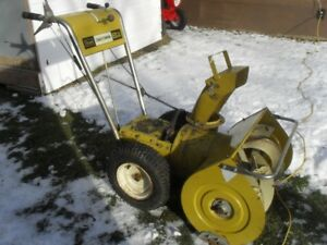 "26"" CRAFTSMAN  SNOWBLOWER chassi"
