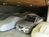 Winter car storage