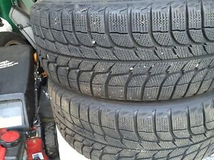 For sale winter Michelin x excellent condition  with rim