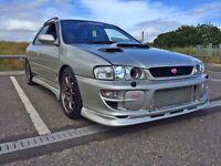 Subaru impreza WRX STI v5 Wagon - Forged, Anti lag 361 BHP
