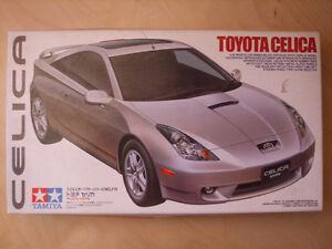 Tamiya Toyota Celica + Fujimi Mitsubishi FTO GPX Model car kits