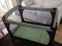Mothercare Travel Cot with basinette