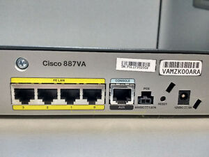 Cisco 887VA Routers Kitchener / Waterloo Kitchener Area image 3